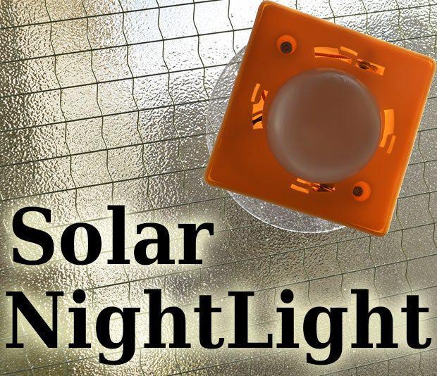 4. DIY Solar Night Light