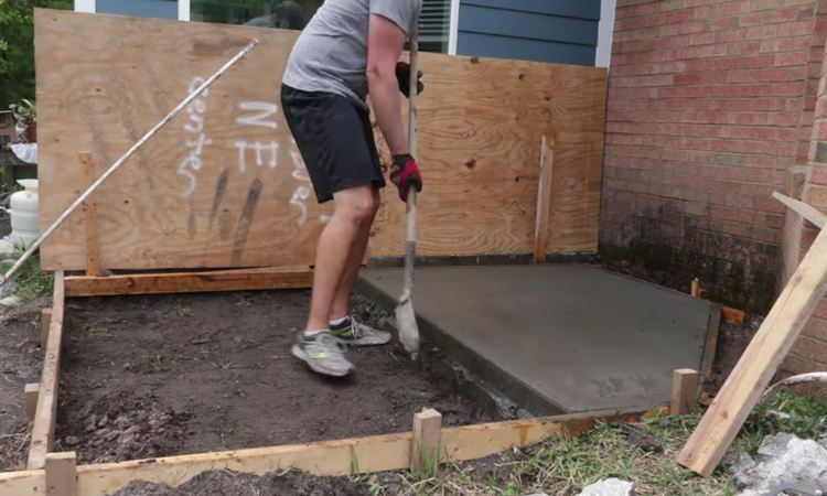 5. Compacting Leveled Soil