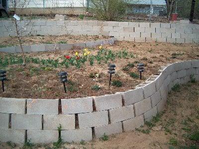 5. DIY Retaining Wall