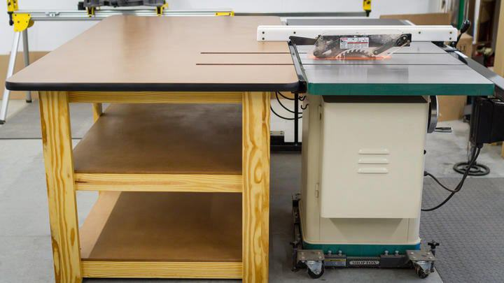 5. How To Build A Table Saw Workbench