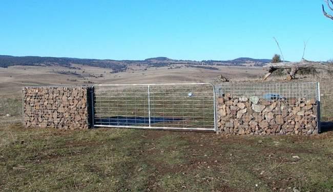 6. DIY Gabion Retaining Wall
