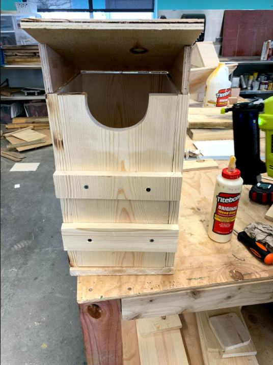 6. DIY Screeching Owl House