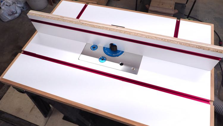 7. DIY Router Table And Fence