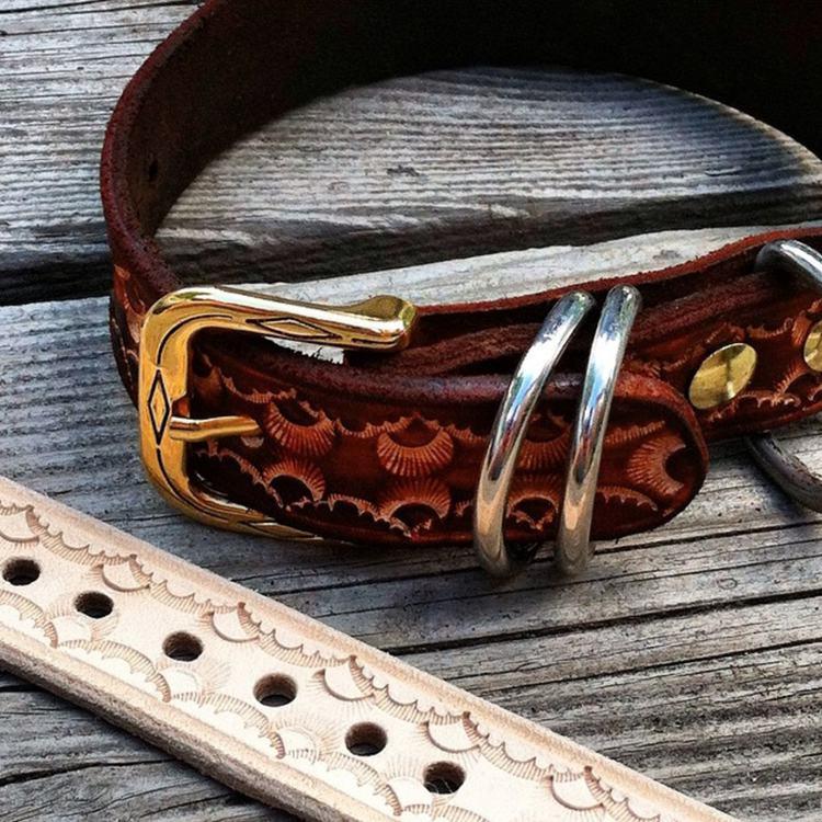 8. DIY Leather Dog Collar