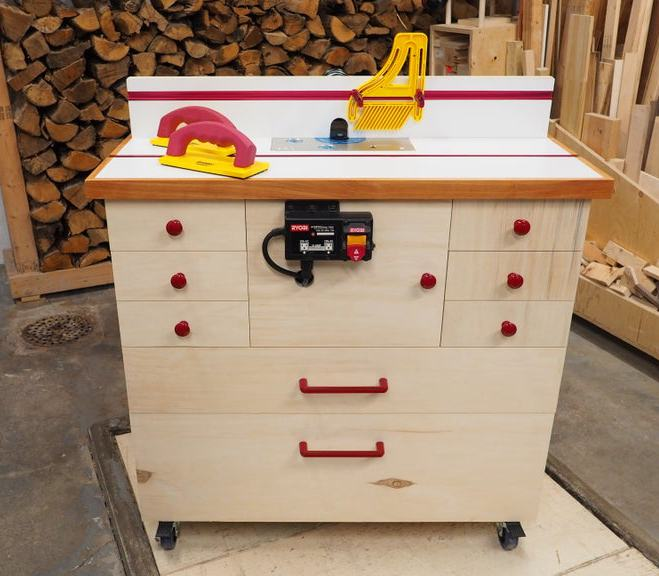 8. Router Table Cabinet DIY