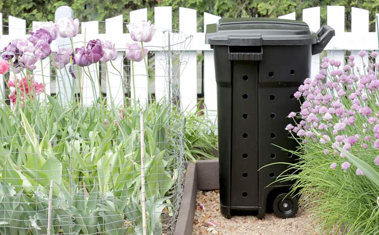 9. DIY Compost Bin
