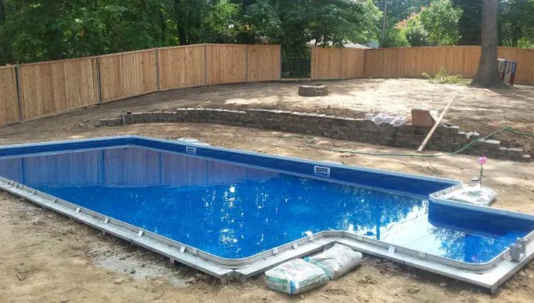 9. DIY Inground Pool