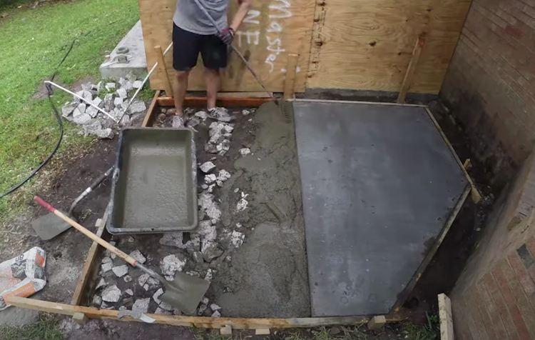 Screeding Placed Concrete