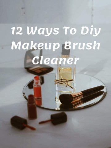 12 Ways To Diy Makeup Brush Cleaner