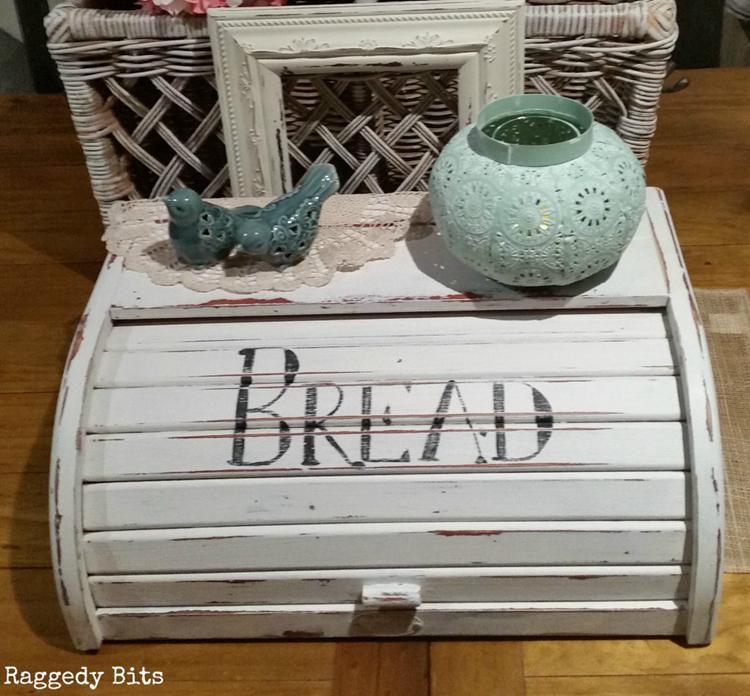 DIY Farmhouse Bread Box Makeover