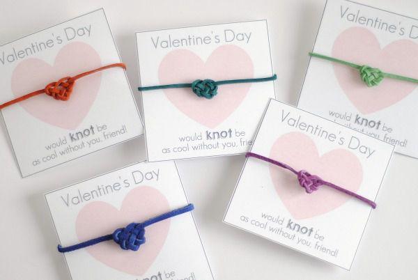 DIY Heart Knot Bracelet