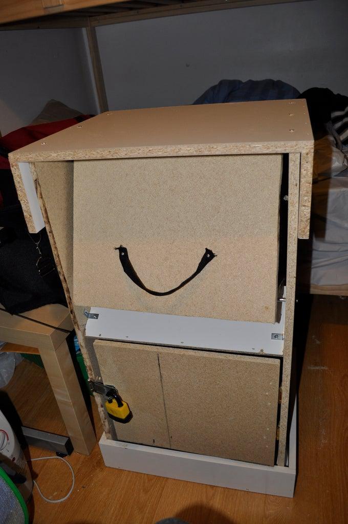 DIY Parcel Drop Box For $55
