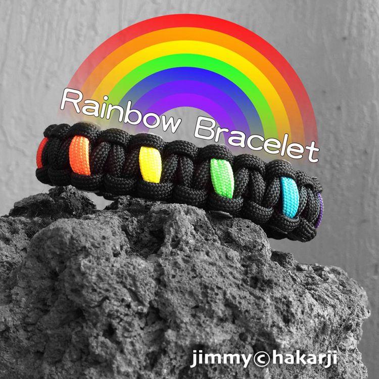 DIY Rainbow Bracelet