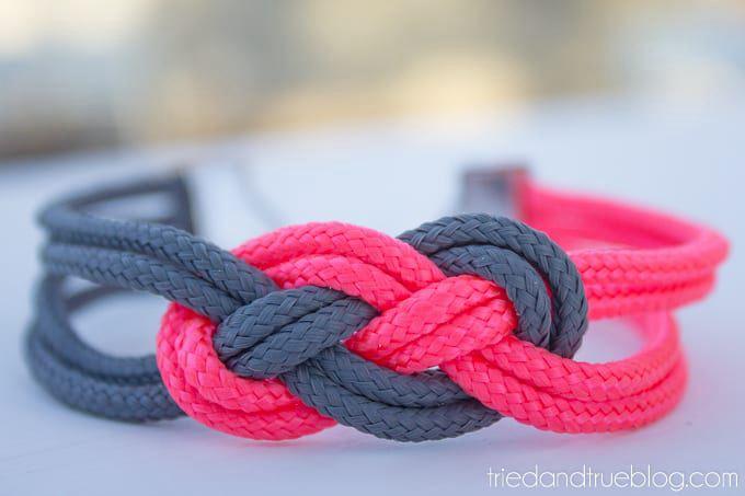 DIY Sailor's Knot Bracelet