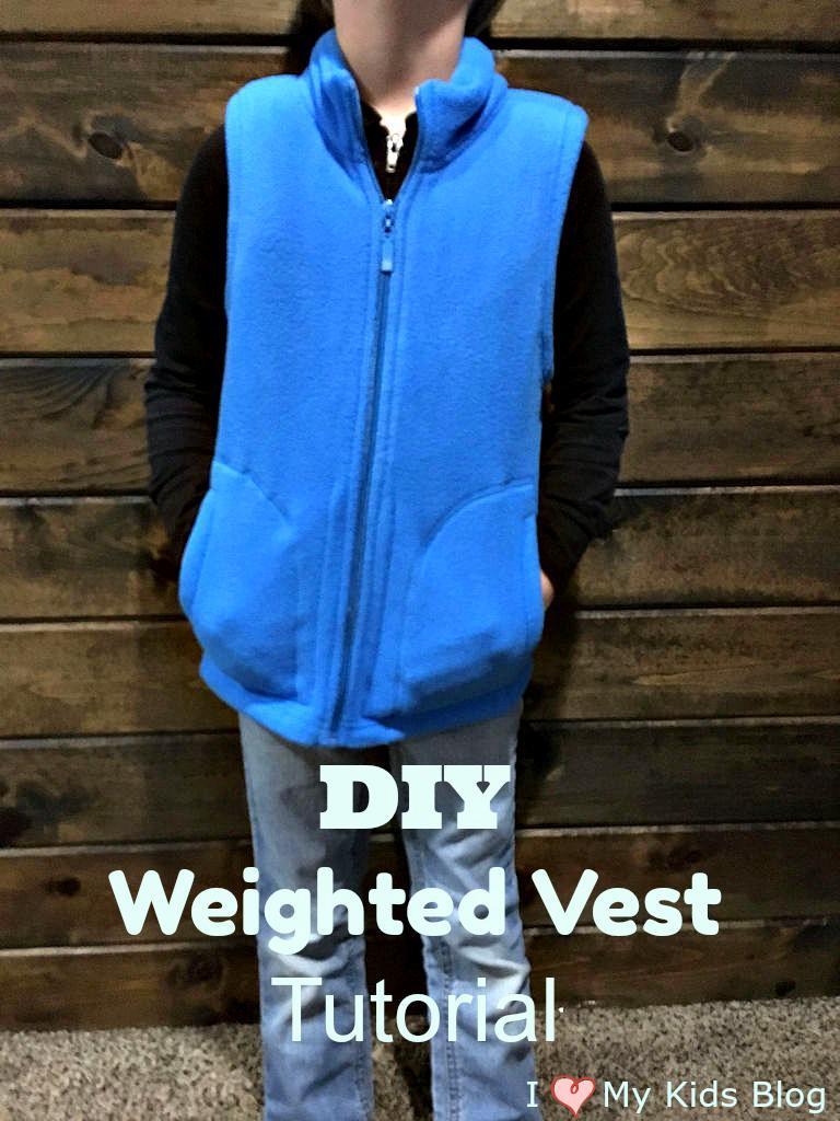 DIY Sensory Weighted Vest