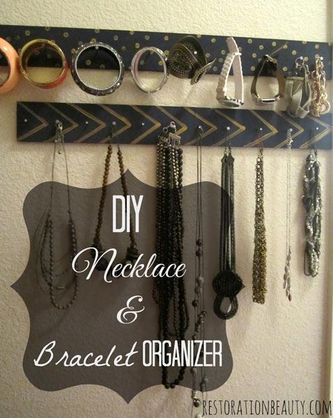DIY Wall Mounted Bracelet Holder-2