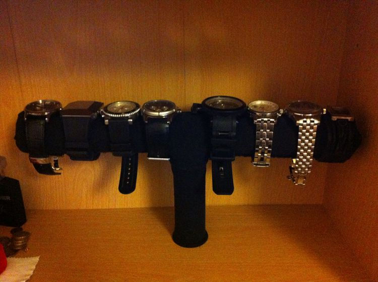 DIY Watch & Bracelet Holder