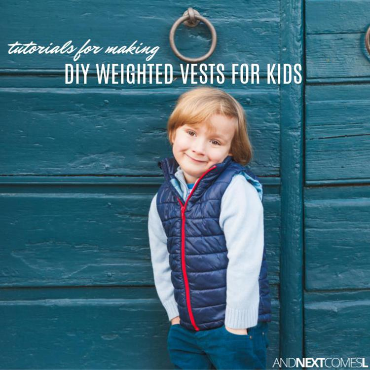 DIY Weighted Vest For Kids