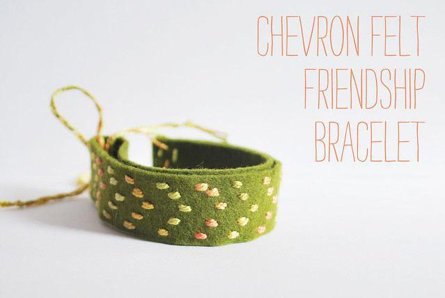 Felt Friendship Bracelet