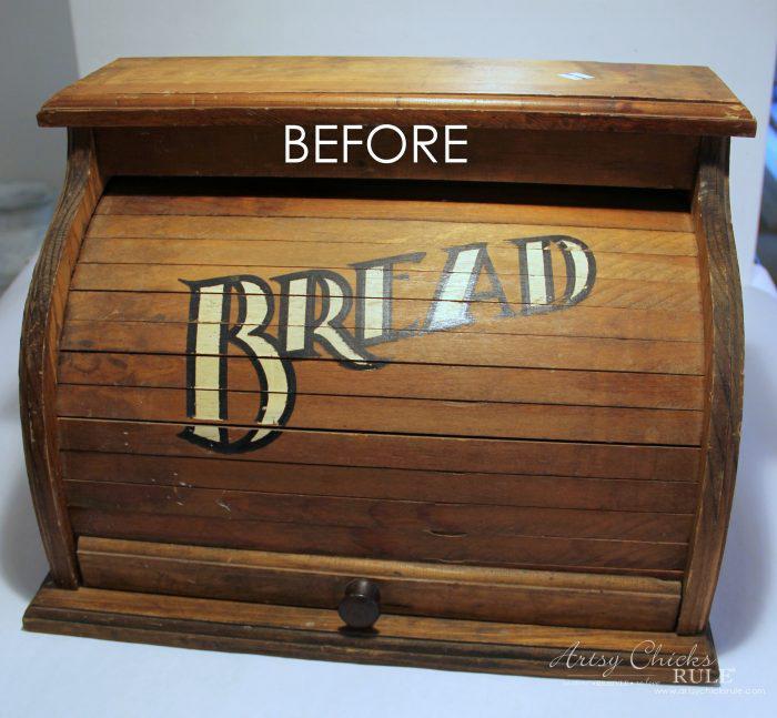 French Farmhouse Breadbox