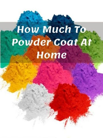 How Much To Powder Coat At Home