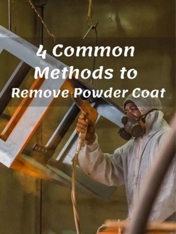 How to Remove Powder Coat