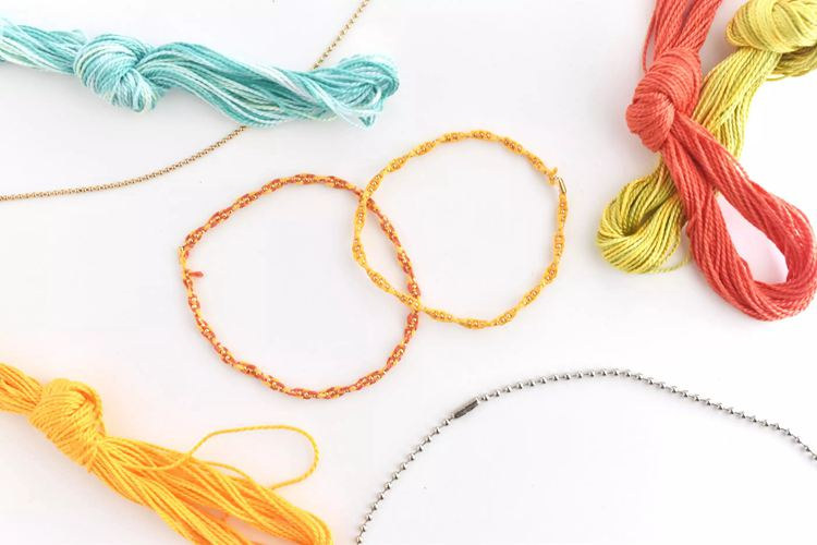 Knotted Chain Friendship Bracelet