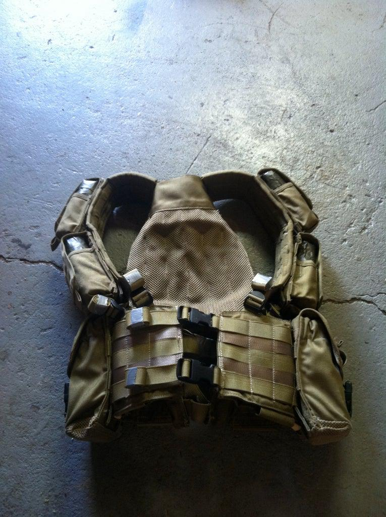 Military Surplus Weighted Conditioning Vest