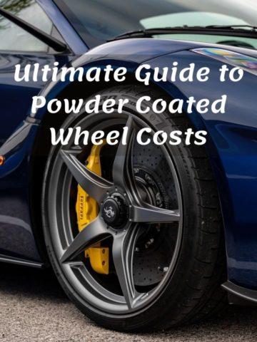 Powder Coated Wheel