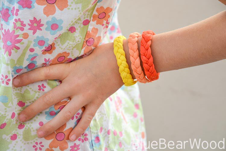 T-Shirt Yarn Bracelet