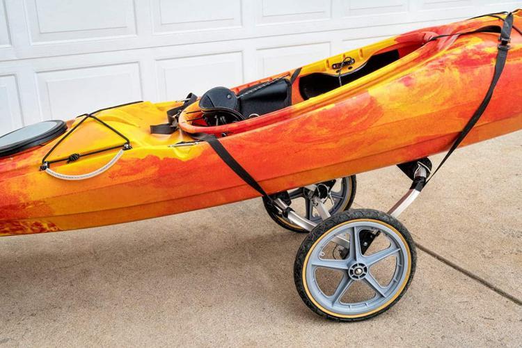Using a Kayak Cart