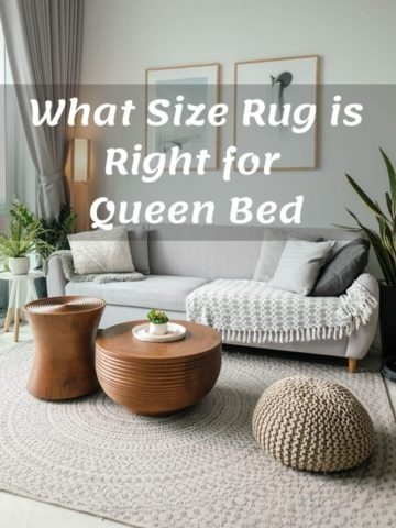 What Size Rug is Right for Queen Bed