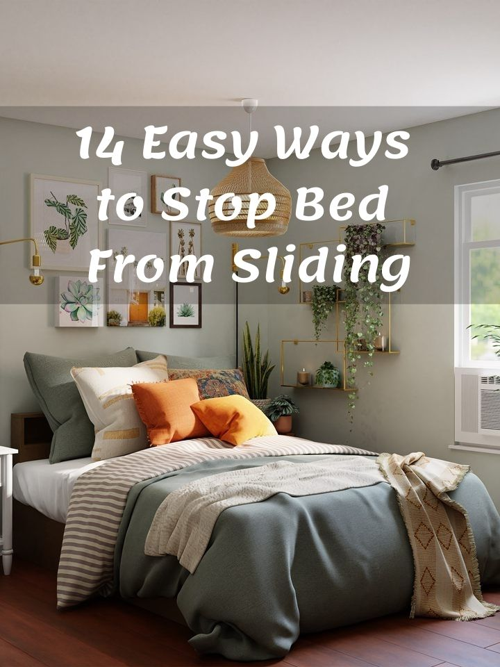how to stop bed from sliding